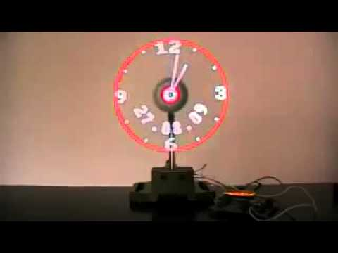Spinning Clock Youtube