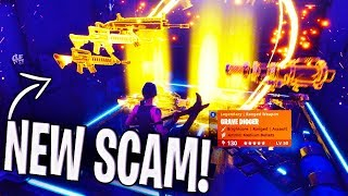 *NEW SCAM* The Invisible Inventory Scam BEWARE! Scammer Gets EXPOSED In Fortnite Save The World