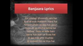 Banjaara | Jise Zindagi Dhoondh Rahi Hai | Ek Villain