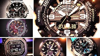Casio G-SHOCK Watches Featured @ Baselworld 2019