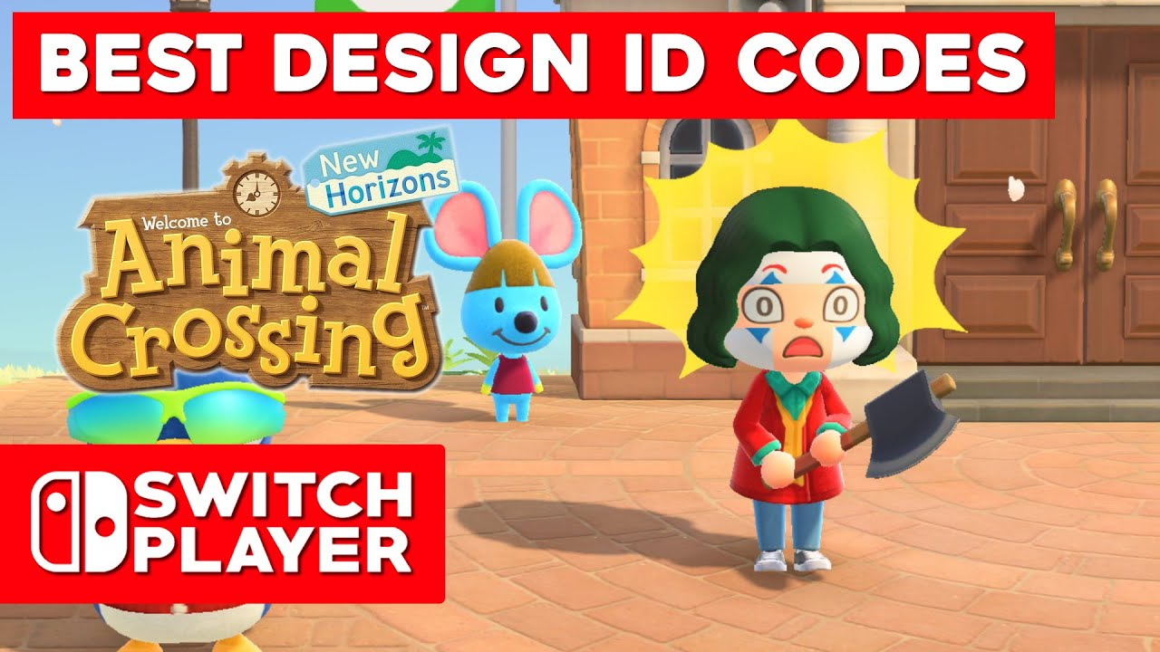 Best Clothes Design Codes In Animal Crossing New Horizons Youtube