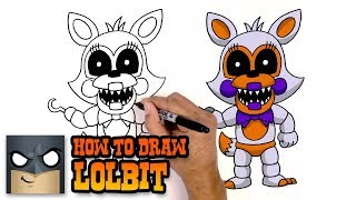How to Draw Lolbit   FNAF Sister Location