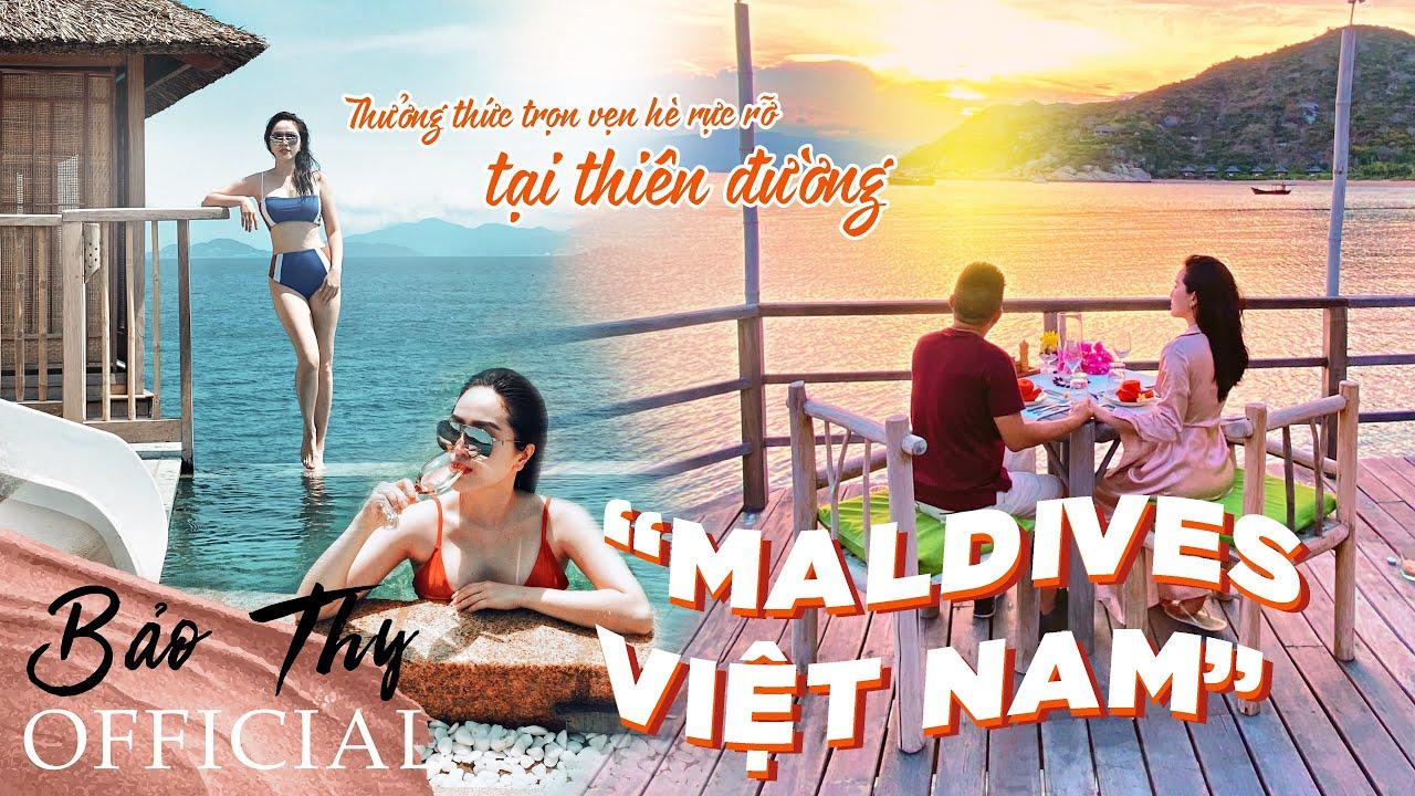 """Thưởng Thức Trọn Vẹn Hè Rực Rỡ Tại Thiên Đường """"Maldives Việt Nam""""   Bảo Thy Official"""