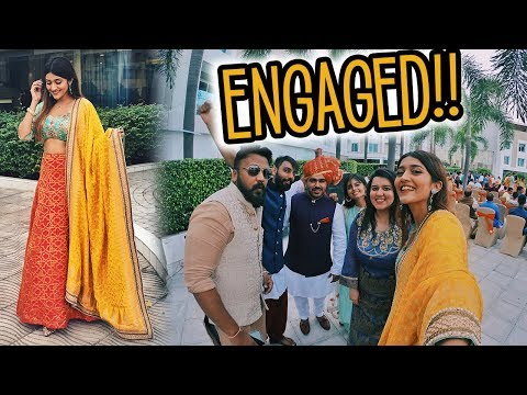 MY FRIEND IS ENGAGED!!!!