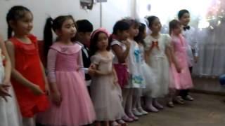 Ансамбль Балауса 2013г., г. Алматы, малыши, открытый урок