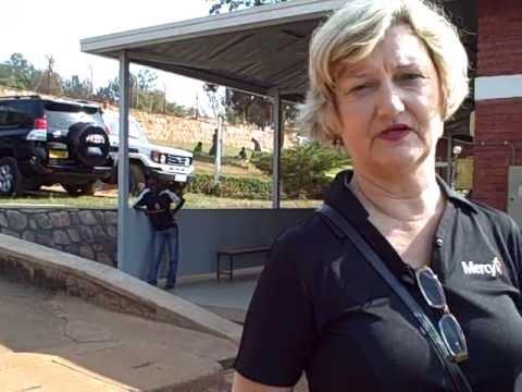 Pam at Muhima Hospital in Kigali, Rwanda