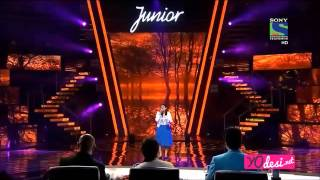Ananya Nanda - Indian Idol Junior 2 - 1st Aug 2015