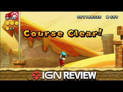 New Super Mario Bros. U Review - IGN Reviews