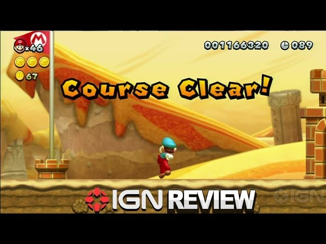 New Super Mario Bros U Review Ign Reviews Youtube