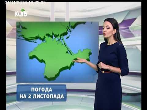 Телеканал Київ: Погода на 02.11.18
