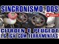 Sincronismo Motor 1.6 16v Citroen e Peugeot com Ferramentas