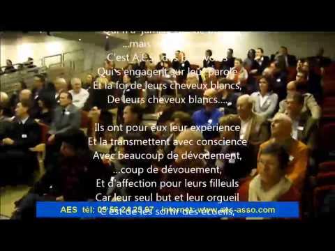 AES la chanson des benevoles