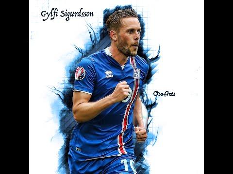 (Gylfi Sigurdsson) Footballer Speed Art | Photoshop