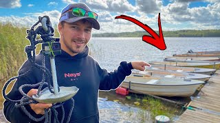 What Fish Live Under a Jetty?! (Exploring with GoPro Underwater) | Team Galant