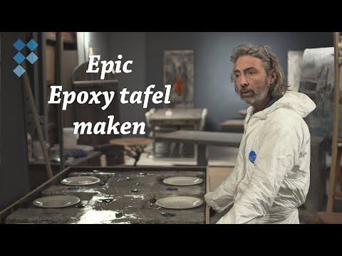 How it's made: Epic epoxy tafel van Wilfert