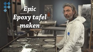 How it's made: Epic epoxy tafel van Wilfert