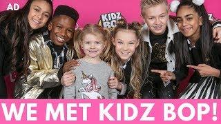 WE MET KIDZ BOP! | MUMMY VLOG | #AD