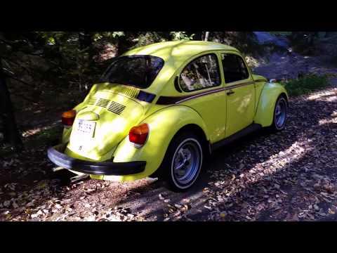 1973 VW Sport Bug Super Beetle short clip