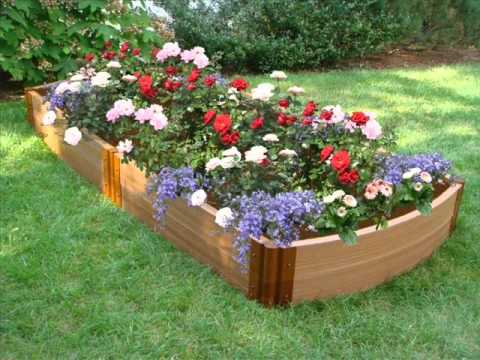 Flower garden plans i flower garden plans and designs for Easy flower garden designs