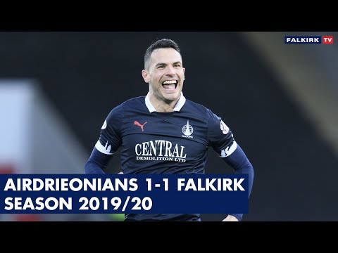 Airdrieonians 1-1 Falkirk | Highlights