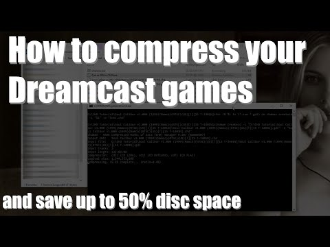Tutorial: Compress Dreamcast GDI To CHD
