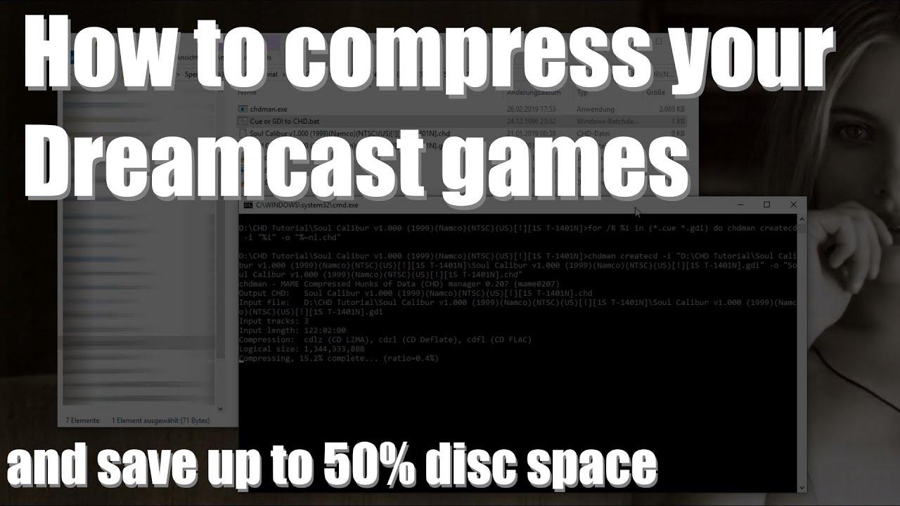 Tutorial: Compress Dreamcast GDI to CHD