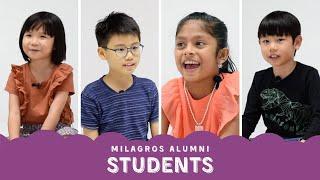 Our Alumni (Students) | Milagros de Montessori School