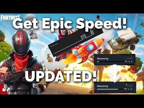 Increase Epic Games Launcher Download Speed 100% Working! (UPDATED 2020!!)