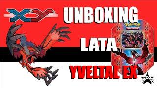 UNBOXING Lata YVELTAL EX   XY Promo + CODE de brinde!