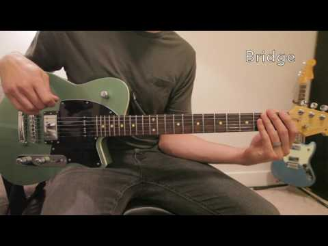 Falling Into You Lead Guitar Tutorial - Hillsong Young & Free