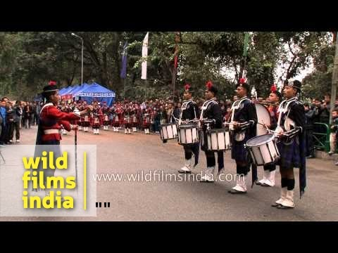 We will Rock you: Bagpipe Band of Scottish Universities Mission Institution from Kalimpong, India