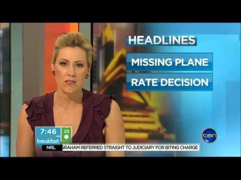 Channel Ten - Breakfast - 7.45am Headlines (2/10/2012)