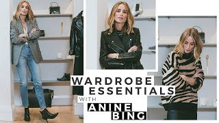 Capsule Wardrobe Essentials With Anine Bing