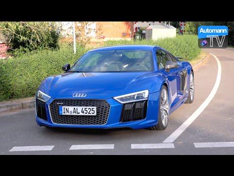 2017 Audi R8 V10 PLUS (610hp) - DRIVE & SOUND (60FPS)