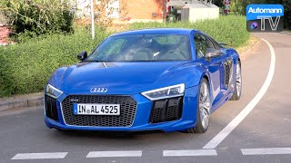 2017 Audi R8 V10 PLUS (610hp) - DRIVE & SOUND (60FPS)