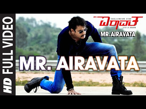 Mr Airavata Video Song | Mr Airavata Video Songs | Darshan Thoogudeep,Urvashi Rautela,Prakash Raj