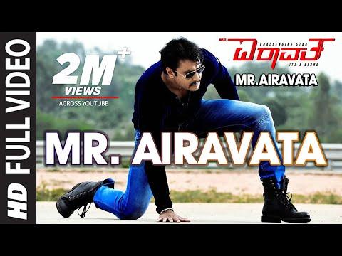 Mr Airavata Video Song | Mr Airavata Video Songs | Darshan Thoogudeep,Urvashi Rautela,Prakash Raj