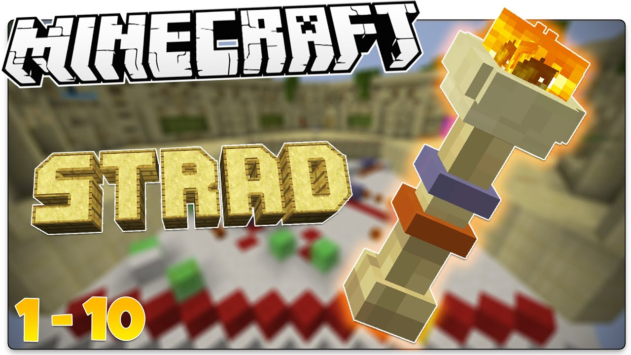 Minecraft The BEST Minecraft Map EVER STRAD Levels - Maps fur minecraft 1 10