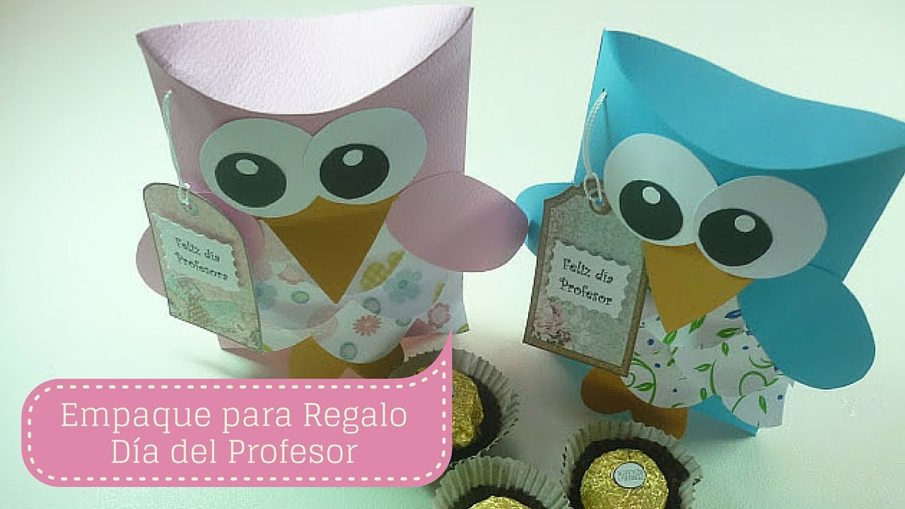Manualidades d a del profesor empaque para regalo diy for Decoracion dia del estudiante