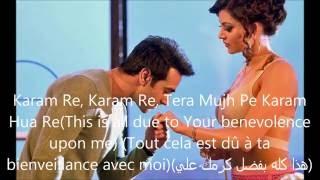 Sanam Re- Song Lyrics (Traduction en Français+English subtitels+مترجمة للعربية)