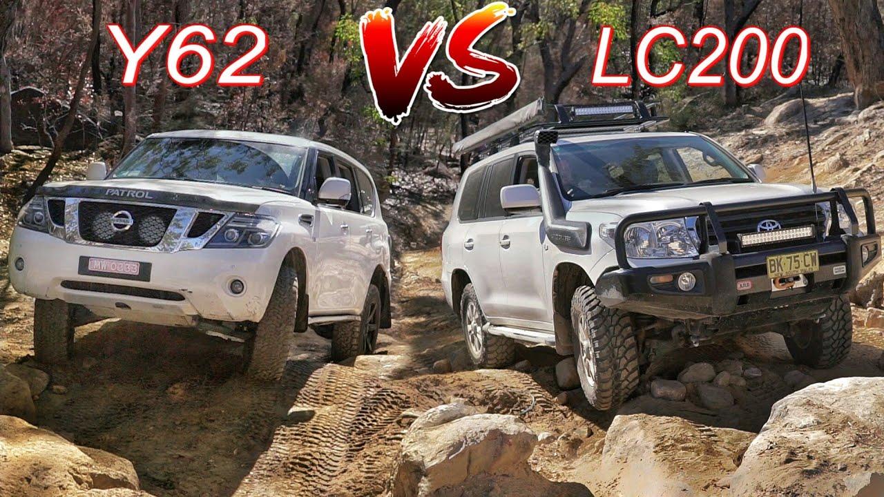 Nissan patrol vs toyota land cruiser