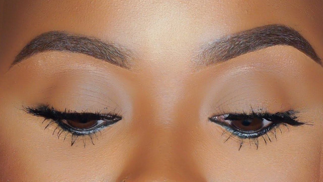 How To Do Your Eyebrows With A 100 Eye Pencil Easy Eyebrow