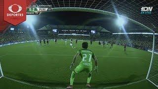 Gol de Ignacio Malcorra | América 0 - 2 Pumas | Partido Amistoso | Televisa Deportes