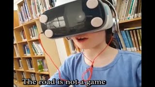 StreetWize VR -  Road safety training classroom