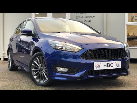 2016 / 66 FORD FOCUS ST-LINE 1.5 TDCI MANUAL DEEP IMPACT BLUE