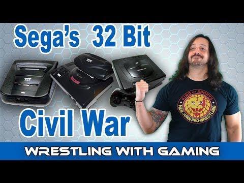The Story Of The Sega Saturn & Sega 32X At War