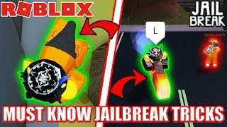 YOU MUST KNOW THESE GLITCHES!!! | Roblox Jailbreak (February 2018)