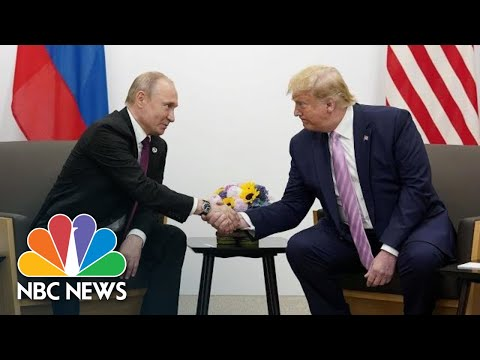 President Donald Trump To President Vladimir Putin: 'Don't Meddle In The Election' | NBC News