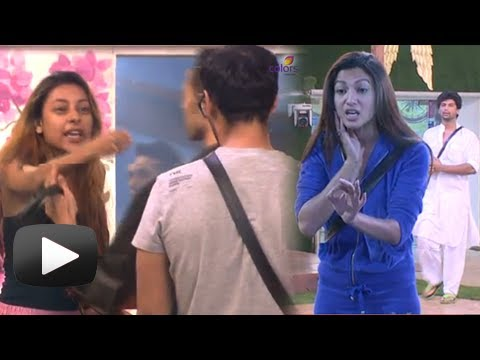 Gauhar, Pratyusha Big Fight With Andy -...