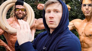 Juji & Tom challenged me to do an Iron Cross!  +  Slab of the week Marathon